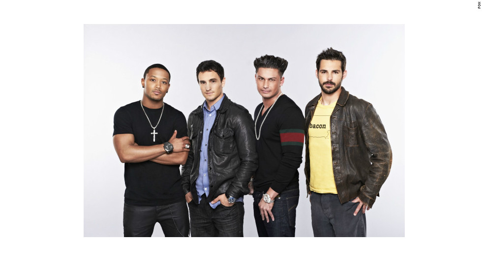 """The Choice"" -- no relation to NBC's ""The Voice"" but similar to it  -- features four celebrity bachelors (and a few bachelorettes) who each choose three women as potential dates during ""blind auditions."" The bachelors include the likes of Romeo, left, Jeremy Bloom, DJ Pauly D and Jason Cook."