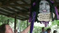 Union boss smacks pinata of Gov. Haley