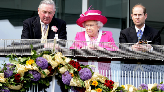 Perhaps her best chance to capture the Derby came last year with Carlton House. The red-hot favorite to win but bad luck in running and the loss of a shoe relegated the queen's runner to third.