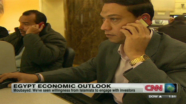 Investors have close eye on Egypt