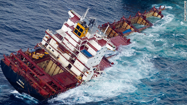 Captain Second Officer Jailed Over New Zealand Cargo Ship Disaster - CNN