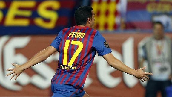 Pedro Rodriguez sealed Barcelona
