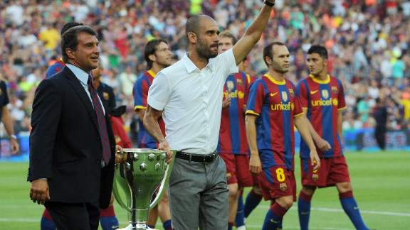 By the time 2009 was out, Barca had added the Spanish Supercup, European Supercup and Club World Cup trophies to their cabinet, making it six won in Guardiola