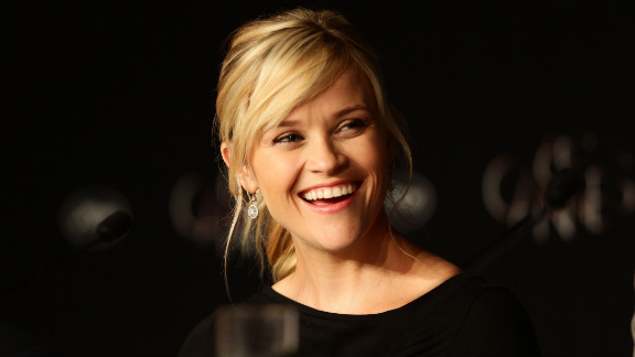 """Actress Reese Witherspoon speaks at the """"Mud"""" press conference."""