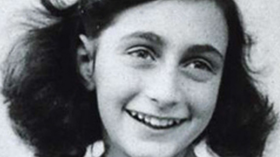 Anne Frank's diary gave an early glimpse into the Holocaust. She was a first cousin of Buddy Elias.