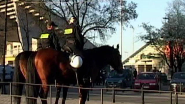Polish police ready for soccer trouble