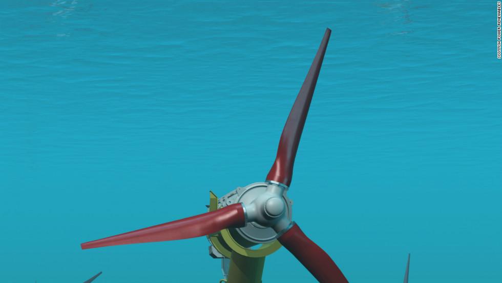 This will be the first such grouping of sub-sea tidal turbines anywhere in the world.