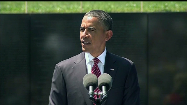 Obama: Vets' treatment a 'national shame'