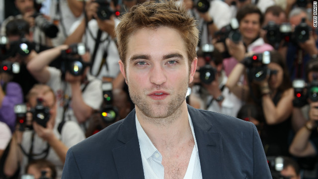 Robert Pattinson posed during the photocall of 'Cosmopolis' presented in Cannes in May.