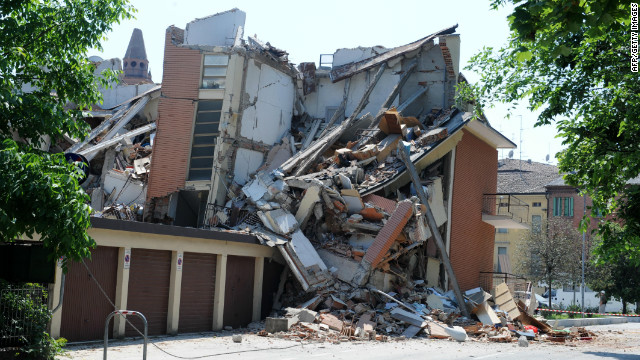 Multiple earthquakes hit northern Italy