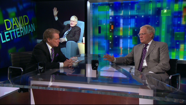Letterman: Brian Williams can have my job