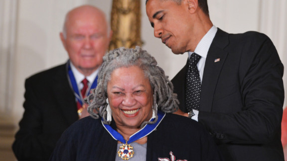 "Toni Morrison was the first African-American woman to win the Nobel Prize.  Among her most famous works are ""Song of Solomon"", ""Jazz"" and ""Beloved""."