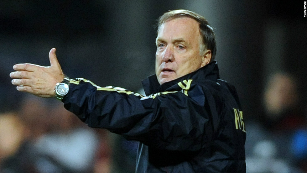 Advocaat announced before Euro 2012 that he would stand down after the tournament to return to the Netherlands with PSV Eindhoven, but his future would have been in doubt anyway as he failed to take Russia past the group stage.