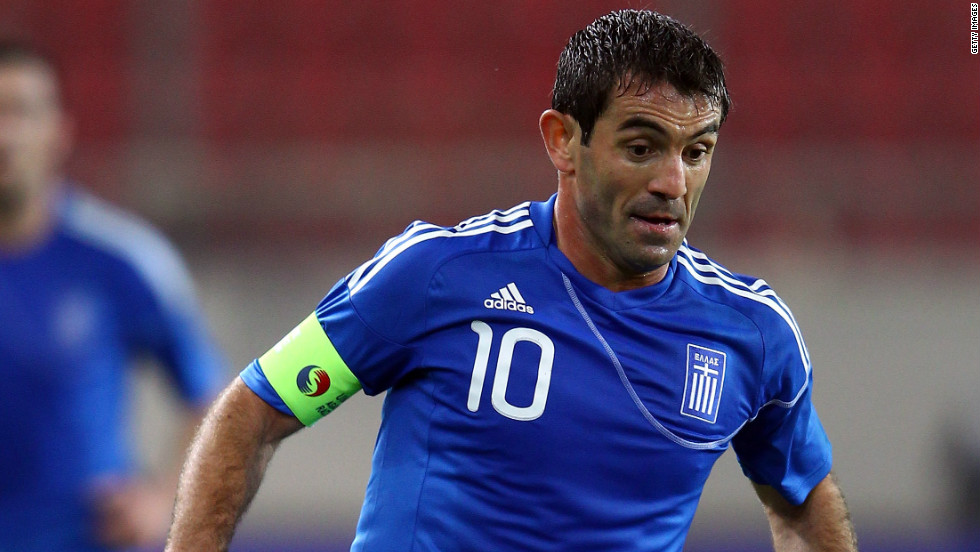 Greece shocked the whole of Europe eight years ago, emerging from nowhere to be crowned Euro 2004 winners. One of the survivors of that team is midfielder Giorgos Karagounis, whose experience will be key if Greece are to reach the quarterfinals.