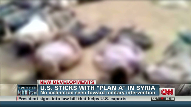 U.S. officials considering Syria options
