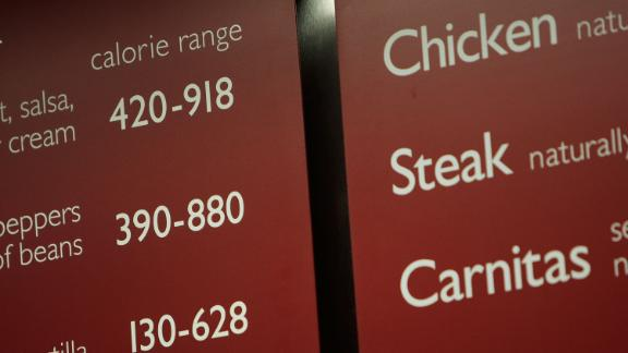 In October 2007, Bloomberg introduced an initiative for chain restaurants to display calorie information on menus and menu boards. McDonald's, Burger King and Starbucks previously listed these counts on their websites or posters, but Bloomberg wanted the information to be in plain sight. Counts began appearing on menus, such as this one from Chipotle, in 2008.
