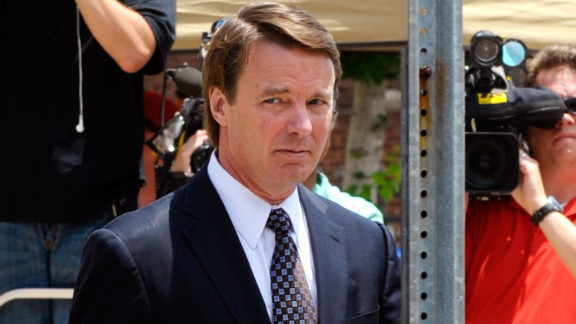 Former senator John Edwards was brought down by a sex scandal.