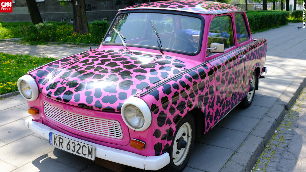 CNN's Linnie Rawlinson captured this image of a vibrantly colored Trabant on a trip to Krakow in April 2012. Visitors can take historic tours of the city in the communist-era vehicles, exploring Krakow's rich architectural and cultural history.