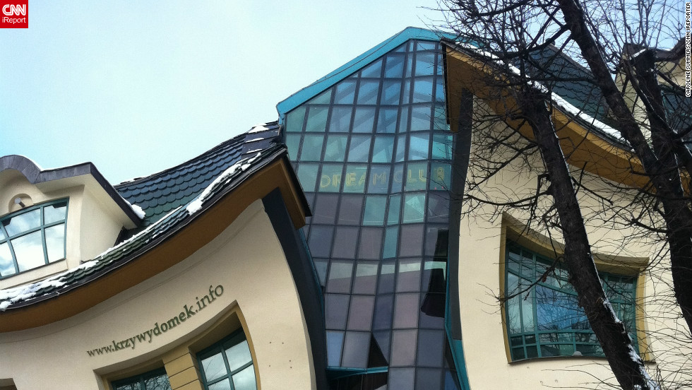 "The psychedelic shapes of the ""Crooked House"" -- or Krzywy Domek to give its Polish name -- in the northern city of Sopot caught the attention of iReporter Caroline Summers during a visit as an exchange student in 2011."