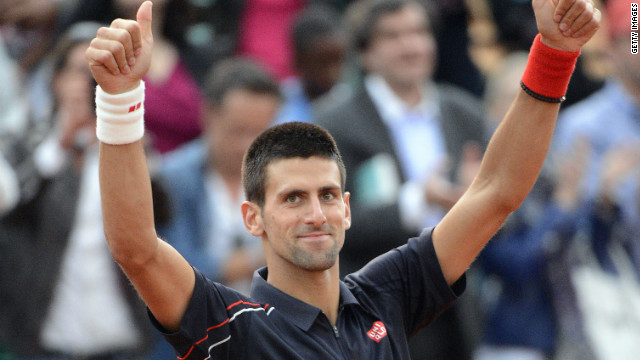 World No.1 Novak Djokovic already holds the Wimbledon, U.S. and Australian Open titles.