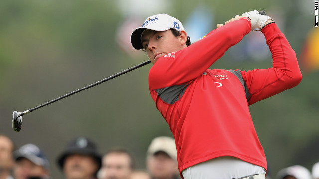 Rory McIlroy cardied three bogeys and two double-bogeys in Friday's second round at Muirfield Village in Dublin, Ohio.