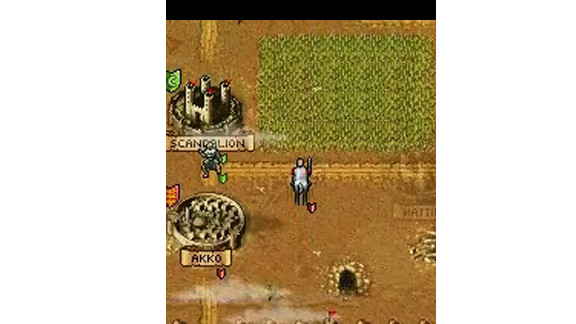 """War Diary"" is a series of ""action-strategy games"" in which players build up armies and fight against each other."
