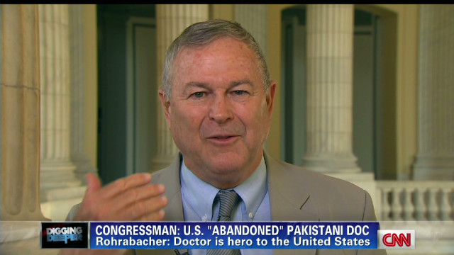 Lawmaker: U.S. should cut aid to Pakistan