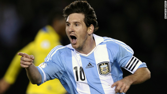 Messi Inspires Argentina In World Cup Qualifying Victory Cnn