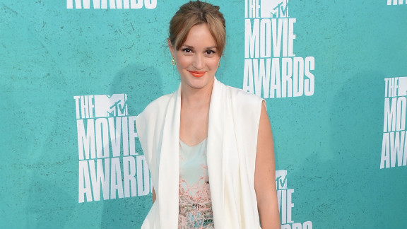 """""""Gossip Girl"""" star Leighton Meester is a capable French speaker, and broke out a few phrases in an interview."""