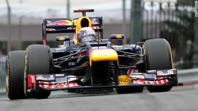 Red Bull's RB8 car has taken the checkered flag in two of this year's six F1 races.