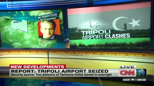 Tripoli airport reportedly seized