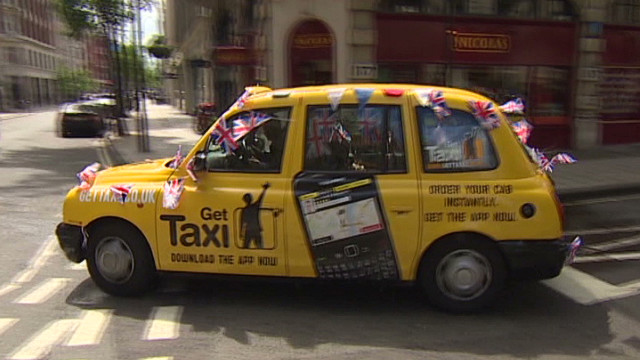Cabbie brings Jubilee party to his ride