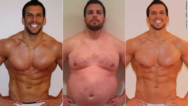Trainer gains 70 lbs on purpose