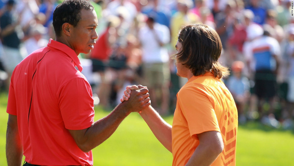 He completely overshadowed rising star Rickie Fowler in the final round, with his highly-rated playing partner slumping to a 12-over 84 after being in title contention.