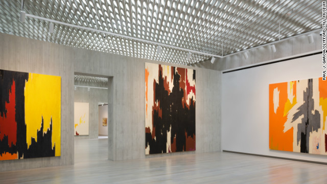 The Clyfford Still Museum opened in Denver last fall after selling four of Still's paintings to help finance construction.