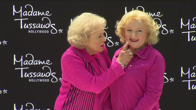 bts betty white wax figure launch _00000821