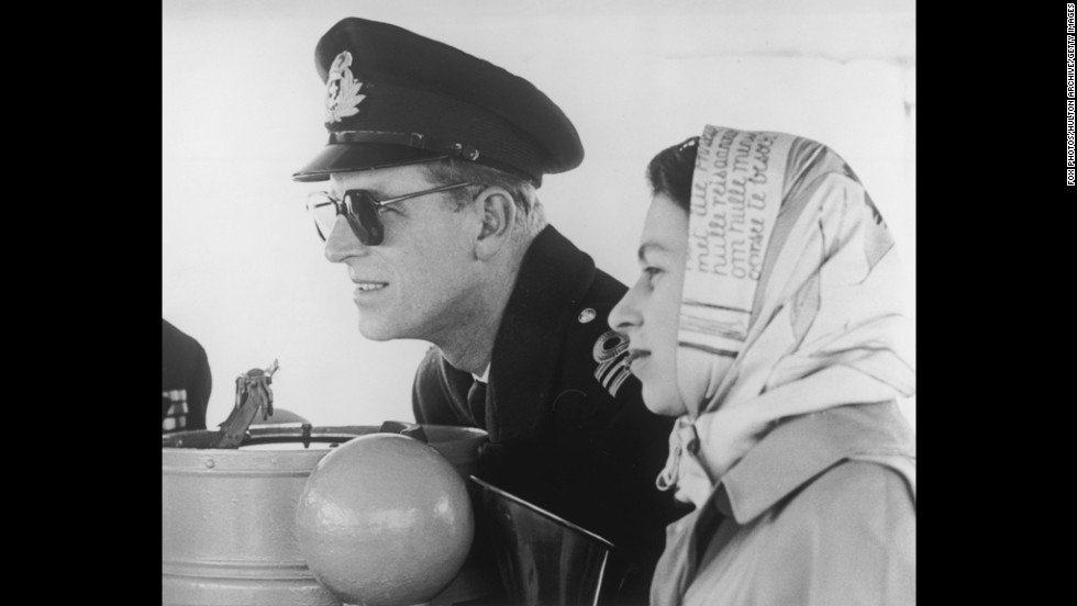 Prince Philip and Princess Elizabeth were on a tour of the commonwealth when her father, King George VI, died on February 6, 1952. She was next in line for the throne.