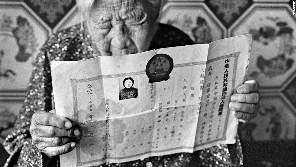 "Photographer Ahn Sehong has taken a series of portraits of so-called ""comfort women,"" Korean women who were forcibly taken from their country and used as sex slaves for Japanese soldiers during WWII."
