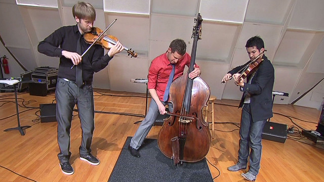 String trio remixes Kanye's 'Stronger'