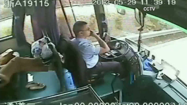 Bus driver praised for saving lives