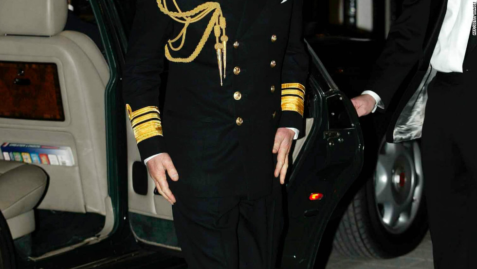 "Such is the royal's enthusiasm for the sea that, in 2002, Prince Charles even arrived for a screening of the James Bond film ""Die Another Day"" decked out in full admiralty gear."