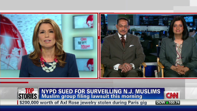 Muslim group files suit against NYPD