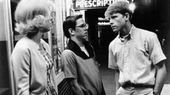 """""""American Graffiti"""" (1973): Candy Clark, from left, Charles Martin Smith and Ron Howard appear in the nostalgic classic that focuses on a group of high school graduates who come together for one last night of cruising before they head off to college."""