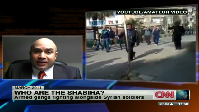 Who are Syria's Shabiha?