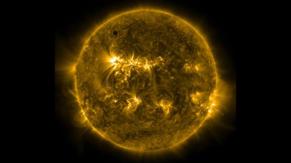 An ultraviolet image taken from NASA