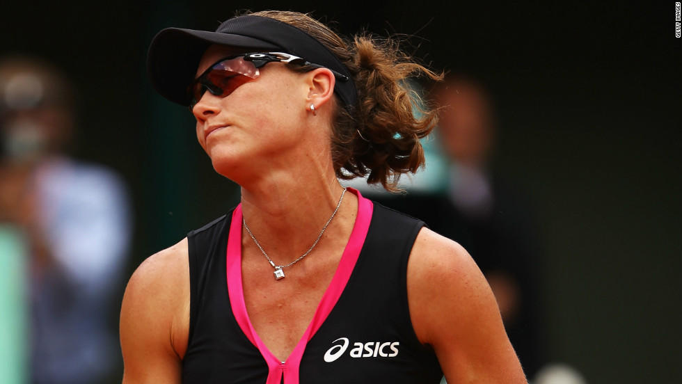 It was more Paris disappointment for world No. 6 Stosur, who was seeking to become the first Australian woman to reach the final since 1979 and the first to win the tournament since 1973.