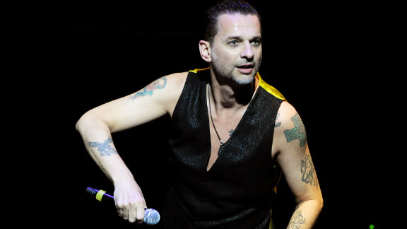 Dave Gahan of Depeche Mode performs at the 7th Annual MusiCares MAP Fund Benefit in Los Angeles.