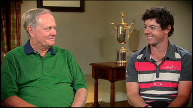 Winning majors with Nicklaus, McIlroy
