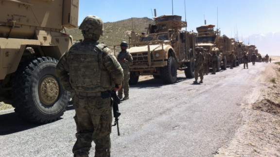 The last of U.S. surge troops sent to Afghanistan in 2009 have left Afghanistan. About 68,000 American troops remain.