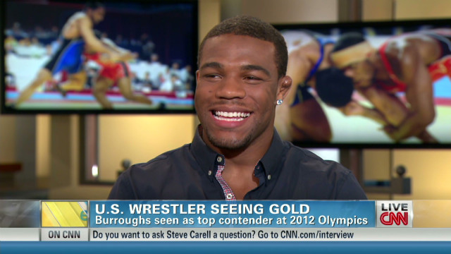 U.S. wrestler could see gold in London